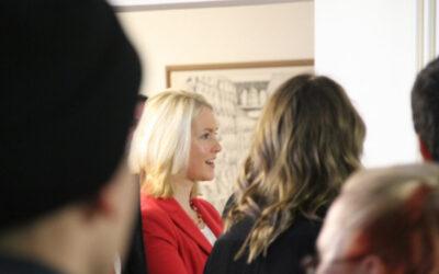 Bundesfamilienministerin besucht Antirassismus-Projekttag an Rostocker Berufsschule