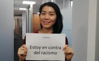 "VW-Aktion: ""Ich bin gegen Rassismus"""