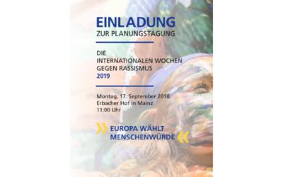 Einladung zur Planungstagung im September 2018