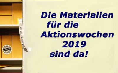 Neue Materialien für die Aktionswochen 2019