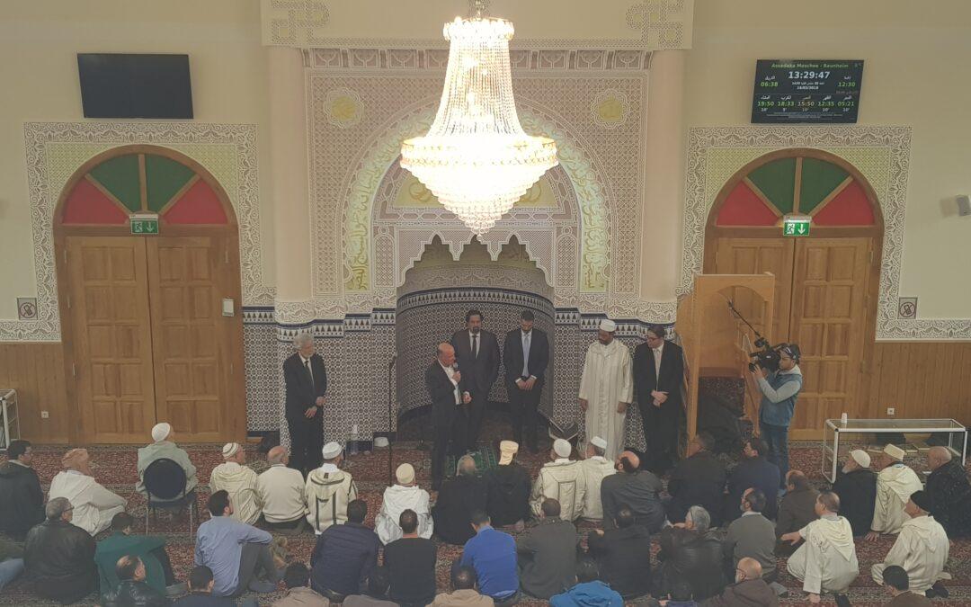 Rede von Daniel Neumann in Raunheimer Moschee 2018