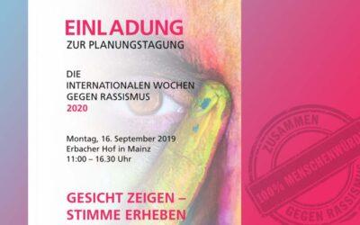 Einladung zur Planungstagung der IWgR 2020 im September 2019