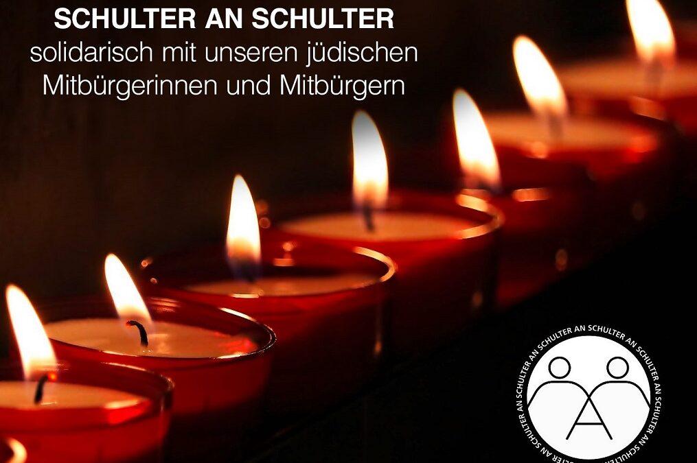 Solidarität mit unseren jüdischen Mitbürger*innen
