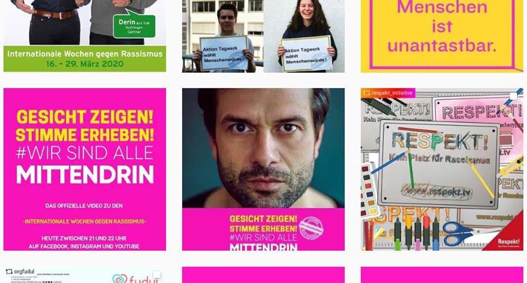 """Trotz Corona """"Gesicht zeigen – Stimme erheben"""": Das Engagement gegen Rassismus geht weiter"""