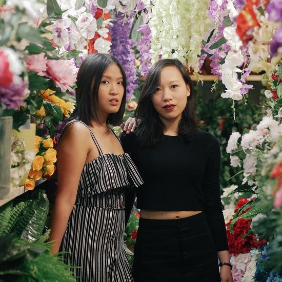 Minh Thu Tran und Vanessa Vu
