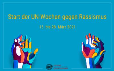 Start der UN-Wochen gegen Rassismus mit über 1.200 kreativen Aktionen