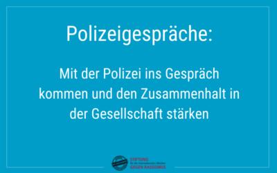 Gespräche mit der Polizei